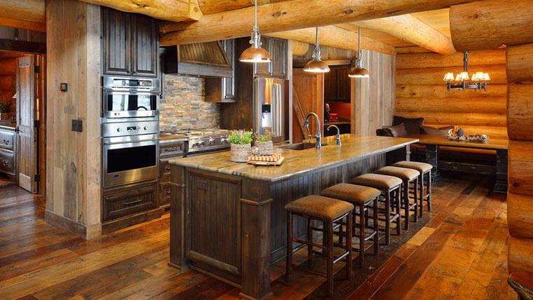 rustic kitchen bar stools